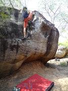Rock Climbing Photo: Bon on How Niaw, V4, Sister 1 boulder