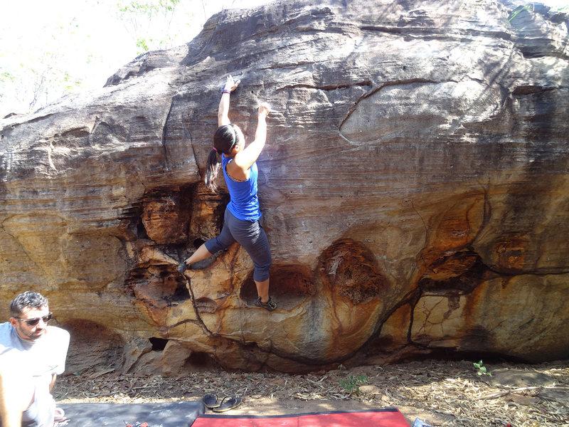 POOKACHAW V4, Sister 2 boulder