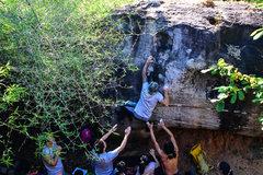 Rock Climbing Photo:  KOW NIAW V4