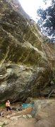 Rock Climbing Photo: Up high on The Sea