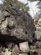Rock Climbing Photo: Center of the face.