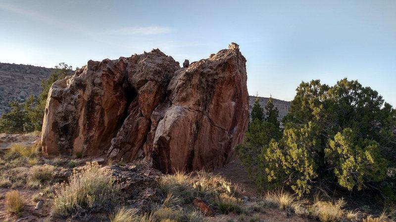 Road's End Boulder.