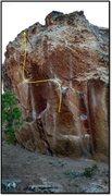 Rock Climbing Photo: Eight Minute Warranty.