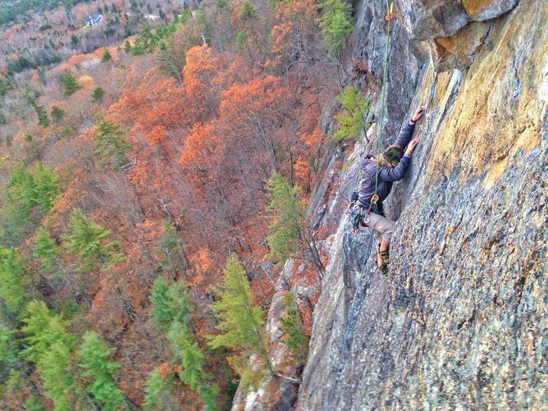 A pretty decent climb