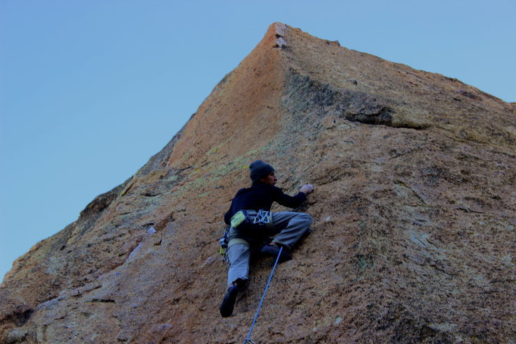Rock Climbing Photo: Welcome to the Dark Side