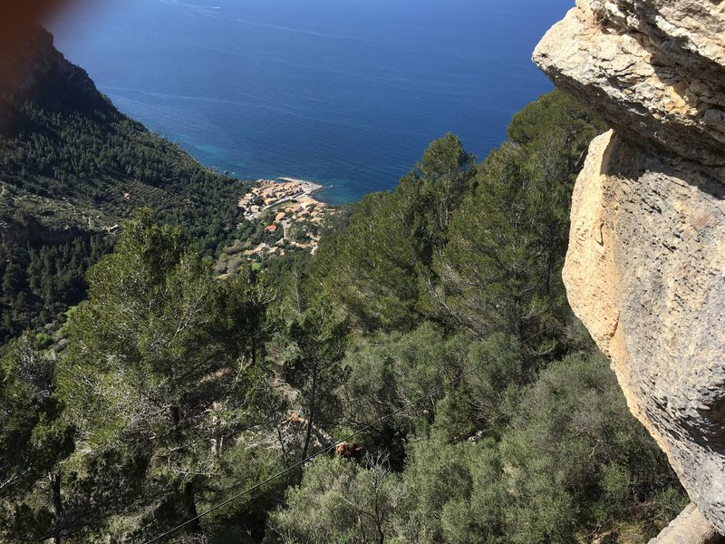 Another view from Dali.  Sostre on the right and Port de Valldemossa way below