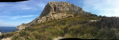 Rock Climbing Photo: Pano of el Funat