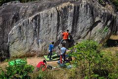 Rock Climbing Photo: All Alone V8
