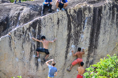 Rock Climbing Photo: Moby Dick Boulder