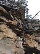 Rock Climbing Photo: there's great stances for every clip. once you...