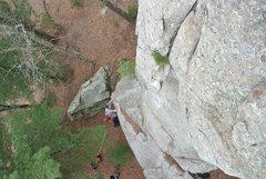 Rock Climbing Photo: Jon J. getting his hug in the afterglow.... Ha!  P...