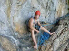 """Rock Climbing Photo: The """"balcony"""""""