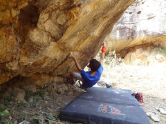 Rock Climbing Photo: Ant Man