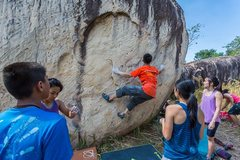 Rock Climbing Photo: Scream your Lung Out