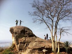 Rock Climbing Photo: Seal Rock at the view point of His Changsi, Upper ...