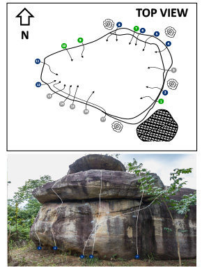 Long Boulder. Too by Khon Kaen Climbing Club. Contact us for more detail.