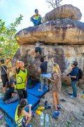 Rock Climbing Photo: Long Boulder