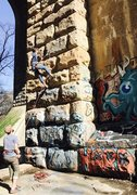 Rock Climbing Photo: Wissahickon, Philadelphia