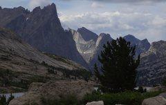 Rock Climbing Photo: Wolf's Head Lit up