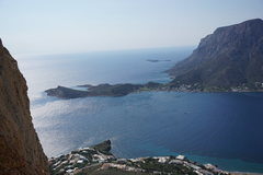 Rock Climbing Photo: Not a bad view from Upper Cave - High above Masour...