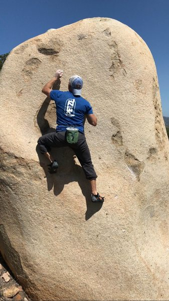 Rock Climbing Photo: Crimp ladder