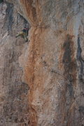Rock Climbing Photo: Unknown climber on Karpouzi.