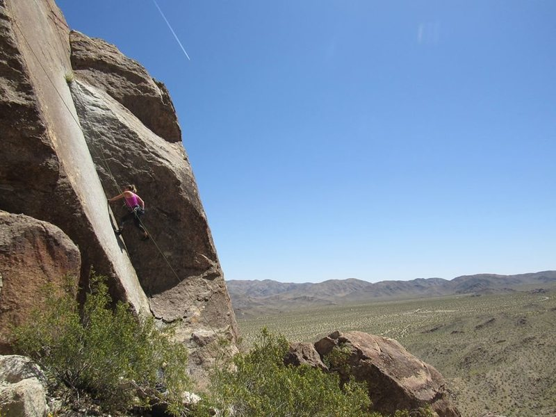 Goldfinger Rock.  Photo UWP by T. Gordon.