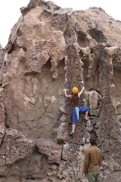 Rock Climbing Photo: China Doll