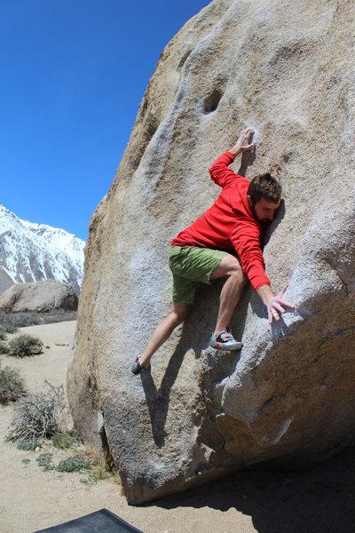 Rock Climbing Photo: Buttermilk Stem