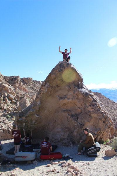 Rock Climbing Photo: Jesus Chrysler Boulder