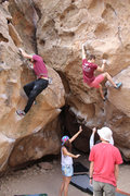 Rock Climbing Photo: Fun times at the slow dance cave