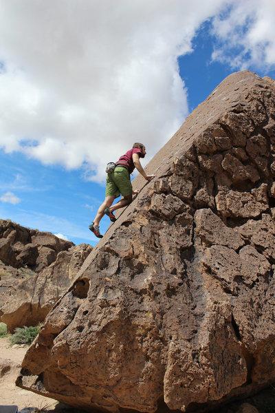 Rock Climbing Photo: Celestial Trail