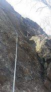 Rock Climbing Photo: Aidan leading Raven