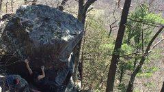 Rock Climbing Photo: Middle.