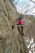 Rock Climbing Photo: torie... another cold day