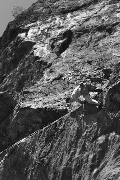 Rock Climbing Photo: At this point this is the 5.12 I have done the mos...