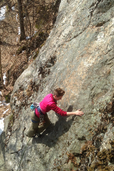 Rock Climbing Photo: and on