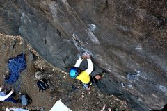 Rock Climbing Photo: Lucky Luke