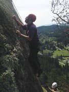 Rock Climbing Photo: Agent Orange start - don't stray left without your...