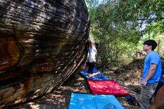Rock Climbing Photo: Slab it traverse
