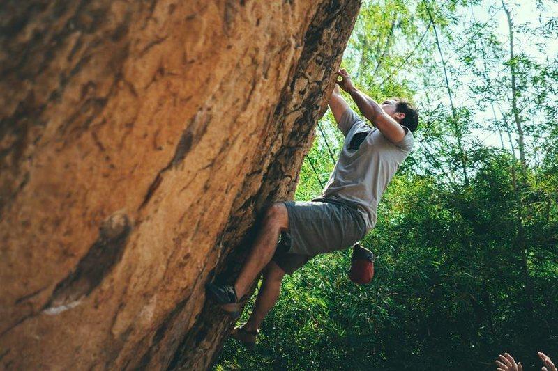 Rock Climbing Photo: Termite Kingdom Boulder