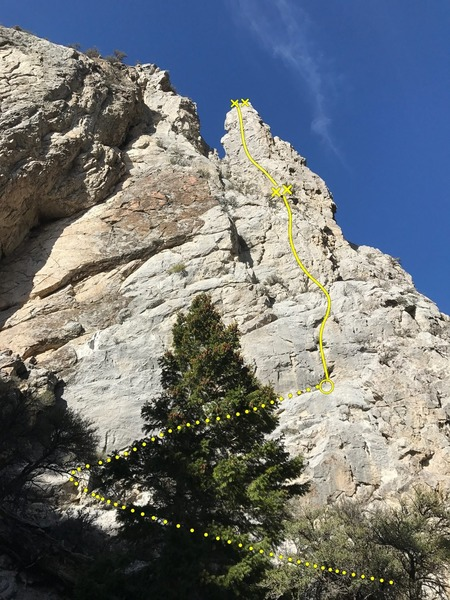 The Fire Spire (5.9)