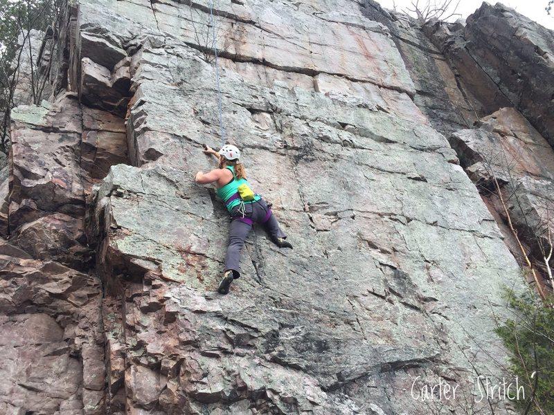 Samantha climbing O&@POUND@39@SEMICOLON@C Electric