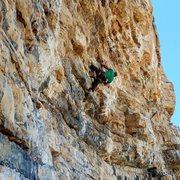 Rock Climbing Photo: Luis on Saxophone Potluck