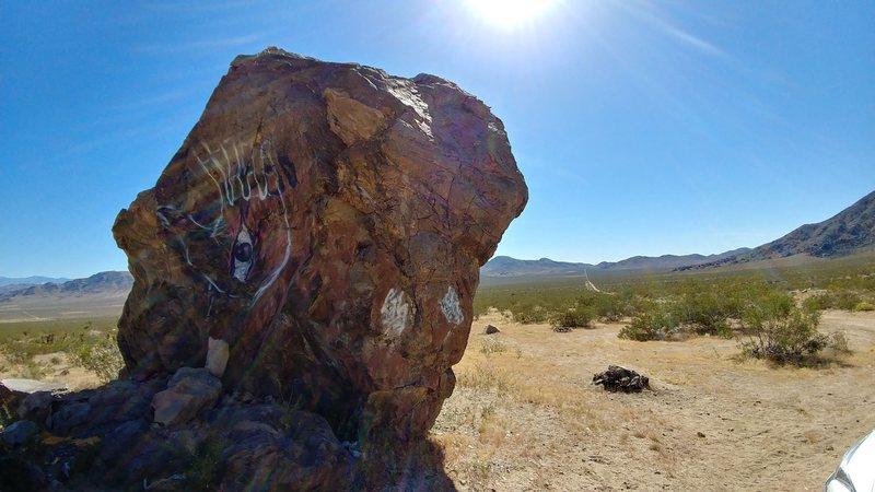 Rock Climbing Photo: Porno Pinnacle, North and West face.