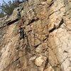 Kendra Stritch climbing Gem.