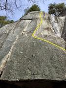 Rock Climbing Photo: Yorkshire Gripper Topo