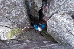 Rock Climbing Photo: Samantha Glowacki climbing Rain Maker.