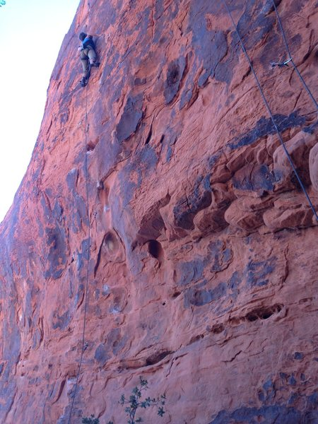 Stone Wall, Redrock