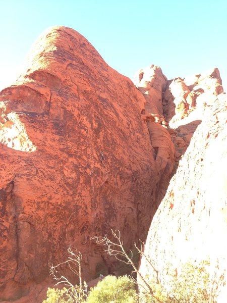 Rock Climbing Photo: Stone Wall, Redrock